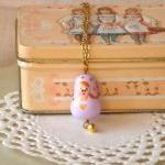  Matryoshka necklace for gi..